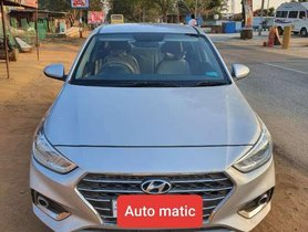 Used Hyundai Verna 2018 MT for sale in Hyderabad