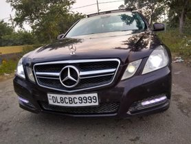 2012 Mercedes Benz E Class AT for sale at low price in New Delhi