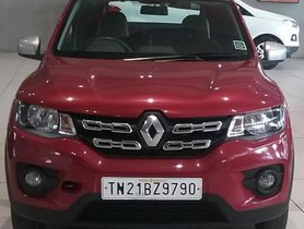 Renault Kwid 1.0 RXT 2016, Petrol MT for sale in Chennai