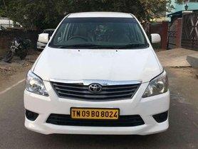 Used Toyota Innova 2.4 Z, 2012, Diesel MT for sale in Chennai