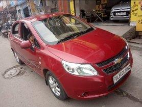 2013 Chevrolet Sail Petrol MT for sale in New Delhi
