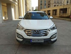 Used Hyundai Santa Fe 2 WD Automatic, 2014, Diesel AT for sale in Mumbai