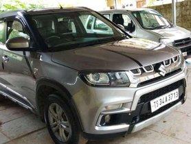 Used Maruti Suzuki Vitara Brezza ZDi - Diesel, 2016, MT for sale in Hyderabad