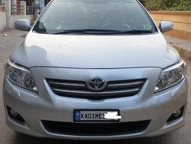 Used Toyota Corolla Altis G 2010 MT for sale in Bangalore