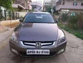Used 2007 Honda Accord MT for sale in Hyderabad