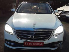 Used Mercedes Benz S Class 2018 AT for sale in Kolkata