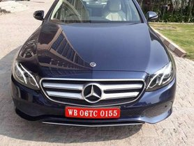 Used Mercedes-Benz E-Class E 220 CDI Elegance, 2019, Diesel AT for sale in Kolkata