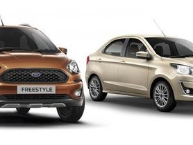 BS6 Ford Aspire & Freestyle Cheaper Than BSIV Models But Lose Features & Mileage