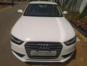 Used Audi A4 2.0 TDI Multitronic, 2013, Diesel AT for sale in Hyderabad