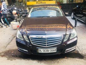 2011 Mercedes Benz E 350d Petrol MT for sale in New Delhi