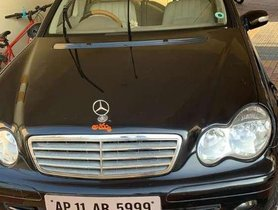 Used 2007 Mercedes Benz C-Class AT for sale in Hyderabad