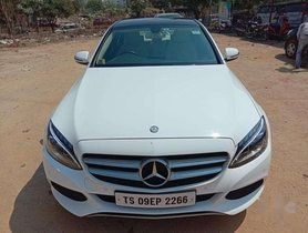 Used Mercedes Benz C-Class C 220 CDI Style 2016 AT for sale in Hyderabad