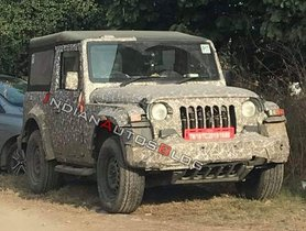 2020 Mahindra Thar To Launch This Summer