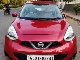 Used 2013 Nissan Micra XV MT car at low price in Ahmedabad