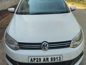 Volkswagen Vento Diesel Highline 2011 MT for sale in Hyderabad