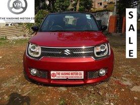 2017 Maruti Ignis 1.3 Alpha MT for sale in Kolkata