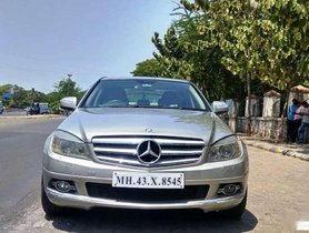 Mercedes-Benz C-Class 200 K Elegance Automatic, 2009, Petrol AT for sale in Pune