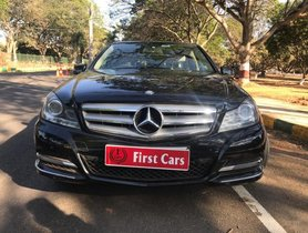 2014 Mercedes Benz C-Class C 220 CDI Elegance AT for sale at low price in Bangalore