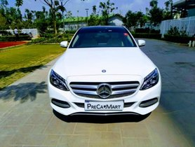 Used 2014 Mercedes Benz C-Class C 200 CGI Avantgarde AT car at low price in Bangalore