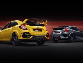 Honda Civic Type-R Sport Line and Limited Edition Models Unveiled
