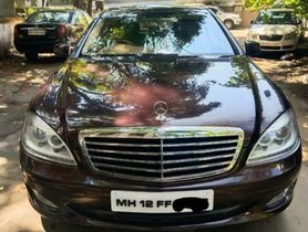 2008 Mercedes Benz S Class AT for sale in Pune
