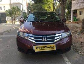 Used 2013 Honda City 1.5 S MT car at low price in Bangalore