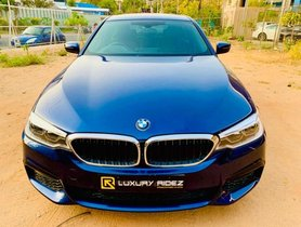 2018 BMW 5 Series 530d M Sport AT for sale at low price in Hyderabad