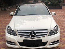 2013 Mercedes-Benz C-Class C 200 CGI Avantgarde AT for sale in New Delhi