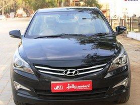 Used 2016 Hyundai Verna MT car at low price in Ahmedabad