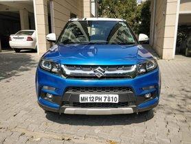 Used 2017 Maruti Suzuki Vitara Brezza ZDi Plus Dual Tone MT for sale in Pune