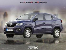 Renault To Launch Kwid-Based Compact Sedan, Will Be Cheaper Than Maruti Dzire
