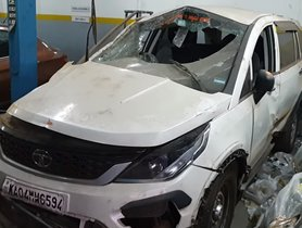 Tata Hexa Has A MASSIVE Accident, Owner Survives And Books Another One