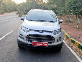 Used 2014 Ford EcoSport 1.5 Ti VCT AT Titanium car at low price in Bangalore