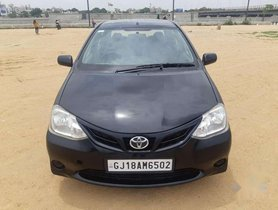 Used 2011 Toyota Etios G MT car at low price in Ahmedabad