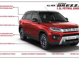 New Maruti Vitara Brezza Petrol Costs Upto Rs 81,000 More Than Diesel Model