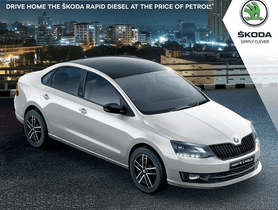 Buy Skoda Rapid Diesel for the Price of Petrol Model