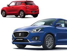 BSVI Maruti Dzire AMT Available With Discounts Worth Rs 82,000, Cheaper Than Swift AMT