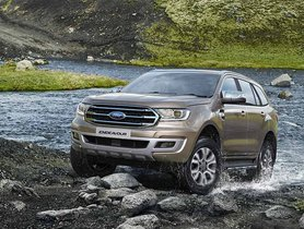 BSVI Ford Endeavour Launched, More Than a Lakh Costlier than Toyota Fortuner