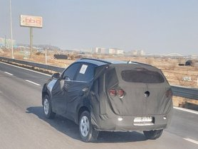 Kia Sonet Spied on Test, Will be Based on Hyundai Venue