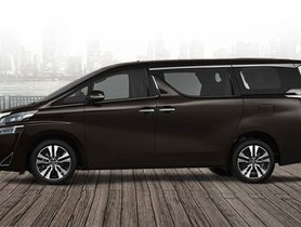 Toyota Vellfire Launched At Rs. 79.5 Lakhs, Luxury-Class Sibling Of Innova Crysta