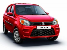BSVI Maruti Alto Available with more than 15% Off