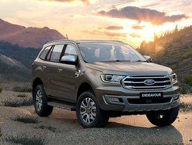 BSVI Ford Endeavor Upto Rs 1.45 lakh Cheaper Than BSIV Model