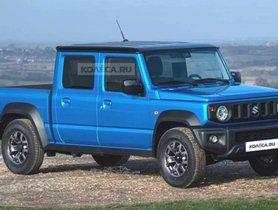 Next-gen Gypsy (Suzuki Jimny) Imagined In Pickup Avatar