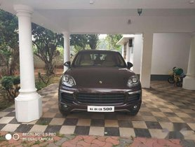 Porsche Cayenne 2017, Diesel AT for sale in Thiruvananthapuram