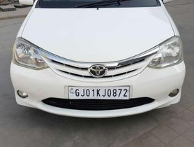 Used Toyota Etios VX 2011 MT for sale in Ahmedabad
