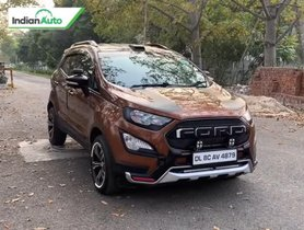 Modified Ford EcoSport With MG Hector Inspired 360 Camera