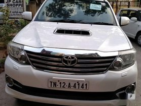 Used Toyota Fortuner 4x2 Manual 2013 MT for sale in Chennai