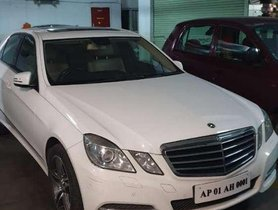 Mercedes-Benz E-Class 220 CDI Sport, 2013, Diesel AT for sale in Hyderabad