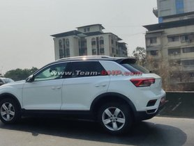 Base Variant Of VW T-Roc (Kia Seltos-rival) Spied In India