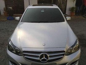 2014 Mercedes Benz E Class AT for sale in Hyderabad